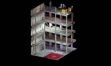 Architectural design hannah associates inc 3d laser for Architecture 3d laser scanner